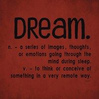 Definitions-Dream II Fine-Art Print