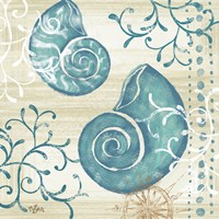 Tranquil Shell II Fine-Art Print