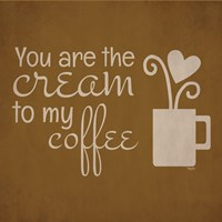 Wine and Coffee Sayings III Fine-Art Print