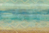 Abstract Waves Blue Fine-Art Print