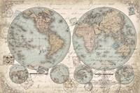 World Hemispheres Fine-Art Print
