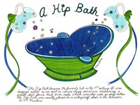 A Hip Bath Fine-Art Print