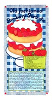Old Fashioned Strawberry Shortcake Fine-Art Print