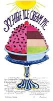 Sky High Ice Cream Pie Fine-Art Print