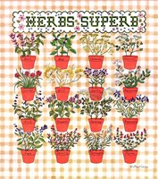 Herbs Superb Fine-Art Print