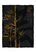 Black Gold Bamboo 2 Fine-Art Print