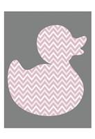 Pink Duck 1 Fine-Art Print