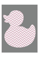 Pink Duck Mate 2 Fine-Art Print