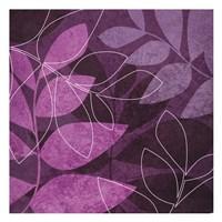Purple Leaves Fine-Art Print