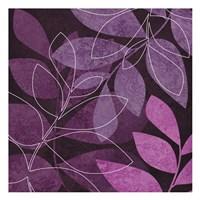 Purple Leaves 2 Fine-Art Print