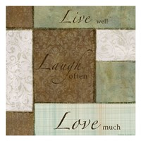 Live-Laugh Love Fine-Art Print