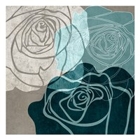 Navy Rose Fine-Art Print