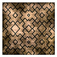 Black on Beige Pattern Fine-Art Print