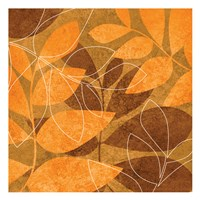 Orange Leaves 1 Fine-Art Print