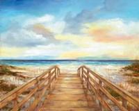 Walk to the Beach Fine-Art Print