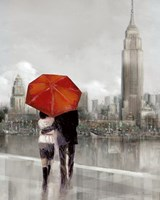 Modern Couple in New York Fine-Art Print