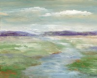 Meadow Stream I Fine-Art Print
