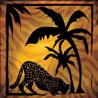 Safari Silhouette I Fine-Art Print