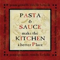 Pasta Sayings II Fine-Art Print