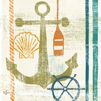 Nautical Brights I Fine-Art Print