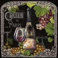Cafe de Vins Wine II Fine-Art Print
