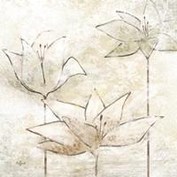 Floral Sketch I Fine-Art Print