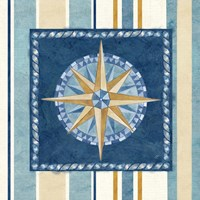 Nautical Stripe I Fine-Art Print