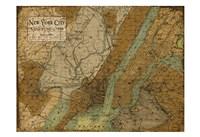 Environs NYC Sepia Fine-Art Print