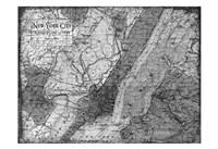 Environs NYC Gray Fine-Art Print