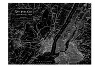 Environs NYC Black Fine-Art Print