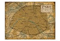 Environs Paris Sepia Fine-Art Print