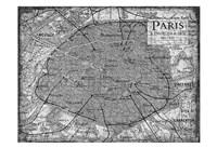 Environs Paris Gray Fine-Art Print