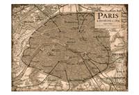 Environs Paris Beige Fine-Art Print