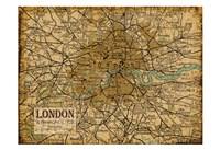 Environs London Sepia Fine-Art Print