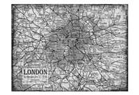 Environs London Gray Fine-Art Print