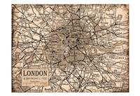 Environs London Beige Fine-Art Print