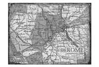 Environs Rome Gray Fine-Art Print