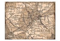 Environs Rome Beige Fine-Art Print
