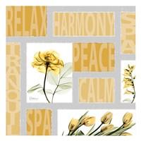 Mondrian Flowers 3 Fine-Art Print