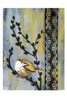 Bird Song Buds II Fine-Art Print