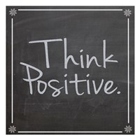 Think Positive Fine-Art Print