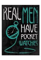Real Men 3 Fine-Art Print