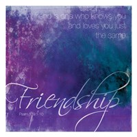 Watercolor Friendship Fine-Art Print