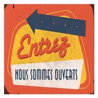 Come In French Fine-Art Print