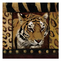 Tiger Bordered Fine-Art Print