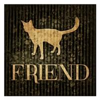 Friend (black background) Fine-Art Print