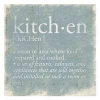 Kitchen Definition 2 Fine-Art Print