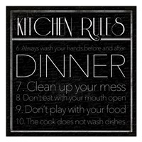 kitchen Rules 2 Fine-Art Print