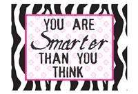 Much Smarter Zebra Fine-Art Print