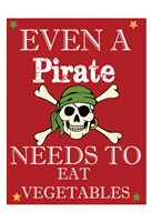 Pirate Must Eat Fine-Art Print